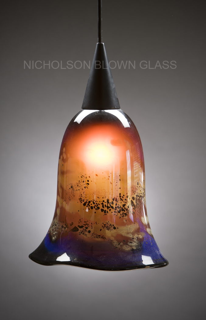 Nicholson blown glass pendant lighting nicholson blown glass pendant aloadofball Images