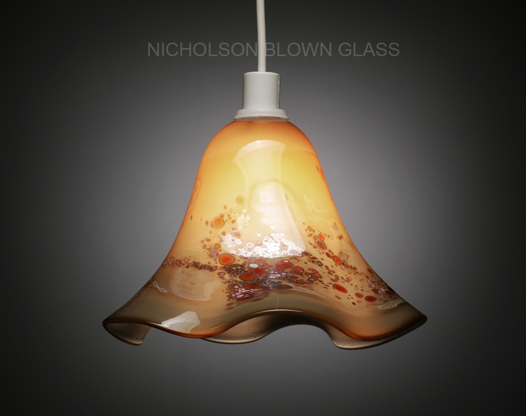 Nicholson blown glass pendant lighting mozeypictures Image collections