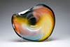 Wave Bowl Nicholson Blown Glass