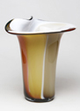 Wave Vase Nicholson Blown Glass